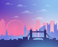 Illustrazione di Londra vettore