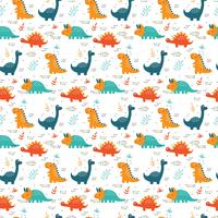 Dinosauri Pattern Vector