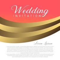 Carta di invito matrimonio con posto di testo