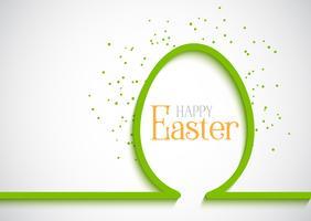 Semplice sfondo di uova di Pasqua