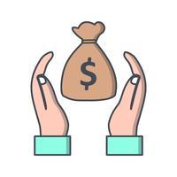 Icona di vettore di risparmio