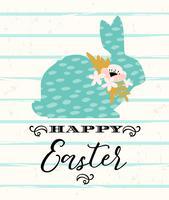 Buona Pasqua. Disegno vettoriale