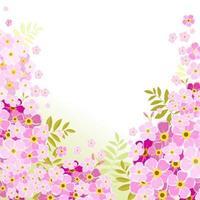 bellezza floreale ortensia vettore