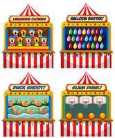 Una serie di tende Fair Fun
