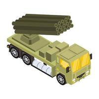 camion portamissili vettore
