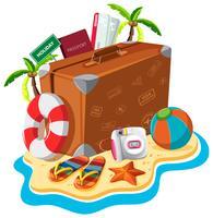 Set di oggetti da viaggio