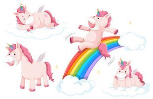 Set di unicorno rosa