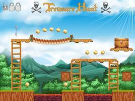 Tema del pirata del gioco di caccia al tesoro