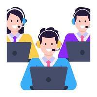 call center e agenti vettore