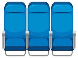 Set di sedile dell'aereo