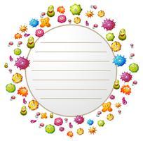 Progettazione di bordi con batteri