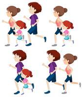 insieme di persone che corrono