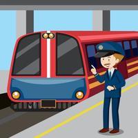 Conduttore e treno