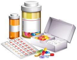 Varietà di medicine diverse