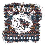 Illustrazione vettoriale con lo slogan per t-shirt
