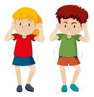 Mossa di danza shmoney bambini vettore