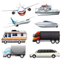 Diversi tipi di veicoli