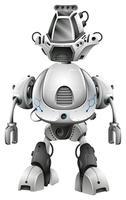 Design robot con grande corpo