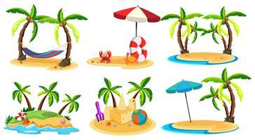 Un set di Paradise Island