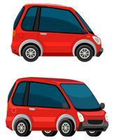 Auto elettrica su sfondo bianco