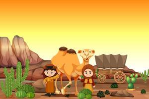 Arabo nel deserto