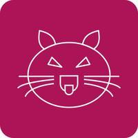 icona del gatto vettoriale