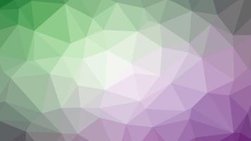 Design colorato collegamento poligonale con, illustrazione vettoriale poli basso