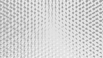 Fondo bianco di tecnologia di griglia di esagono 3D, illustrazione di vettore