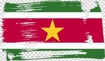 Bandiera di Grounge-styled, illustrazione vettoriale
