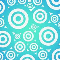 Priorità bassa variopinta di gradiente con i cerchi, illustrazione di vettore