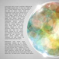 Globo colorato, illustrazione vettoriale