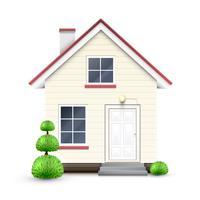 Casa realistica, vettoriale