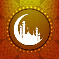 Astratto sfondo islamico vettore