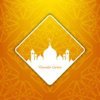 Sfondo astratto Eid Mubarak vettore