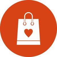 icona di shopping bag vettoriale