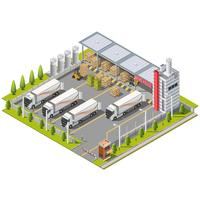 Area industriale del magazzino