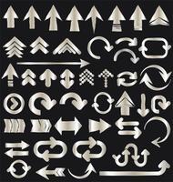 raccolta di frecce vettore