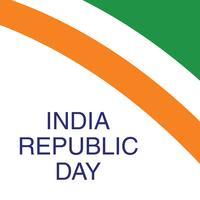 Concetto di giorno della Repubblica indiana vettore