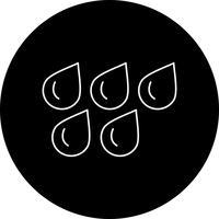 icona di gocce d'acqua vettoriale