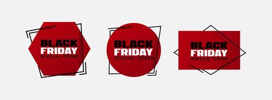 Illustrazione di vettore di vendita di Black Friday