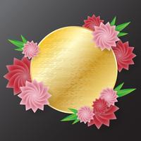 fiore sfondo vettoriale