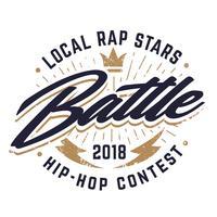 Emblema di vettore di battaglia Hip-hop