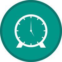 Icona a forma di orologio vettore