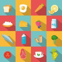 Concetto di cibo naturale vettore