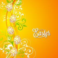 Illustrazione di vacanze di Pasqua vettore