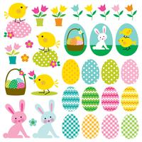 Grafica clipart di Pasqua