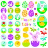 simpatici clipart di Pasqua