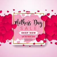 Illustrazione di vendita di giorno di madri