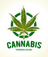 Emblema di cannabis