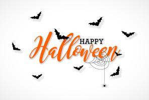 Illustrazione di halloween felice vettore